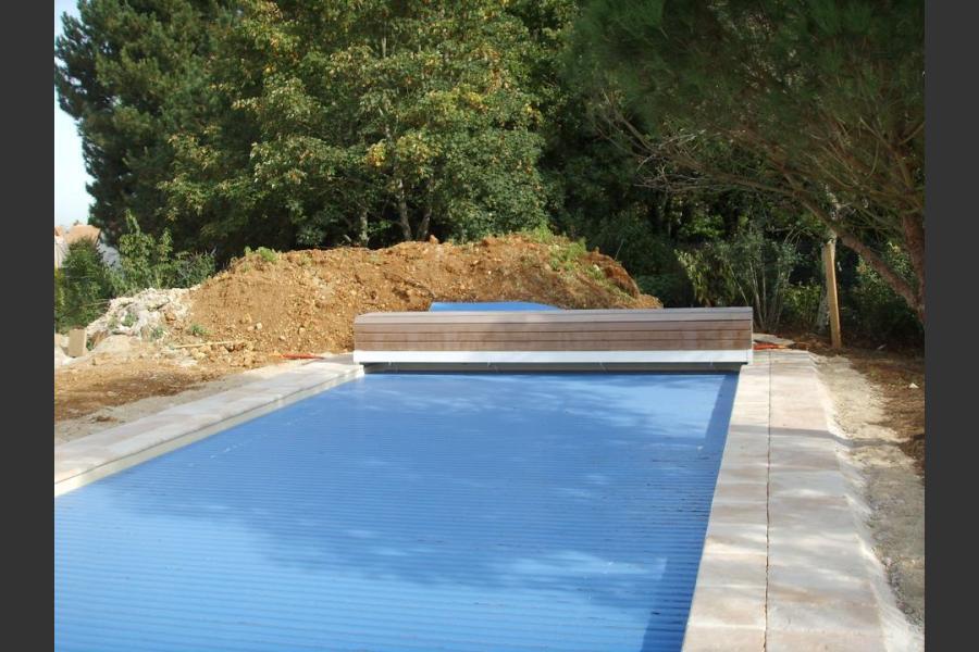 Aménagement tour de piscines, terrasse